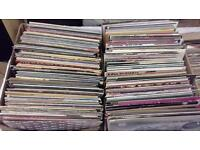 Huge job lot of vinyl Lp's and singles ideal resale or to rebuild/expand your collection