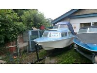 microplus 501 explora with 9.9 manual start suzuki outboard and trailer