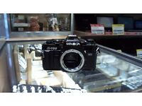 MINOLTA X-700 FILM CAMERA (BODY ONLY)