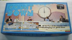 Vintage COUNTDOWN TV Board Game By Spears Games - Complete and in Very Good Condition