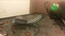 3 Exercise machines
