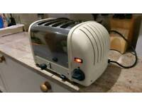 Reconditioned Dualit 4 slice toaster in cream and chrome