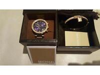 Ladies Michael Kors watch and bracelet