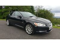 2008 Jaguar XF Premium Luxury 2.7 V6 Diesel Black 93k FSH