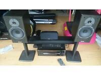 Surround sound / hi fi system - Sony receiver, audica sound bar, tannoy speakers.