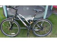"Duel 300 Shogun men's 17"" frame mountain bike"