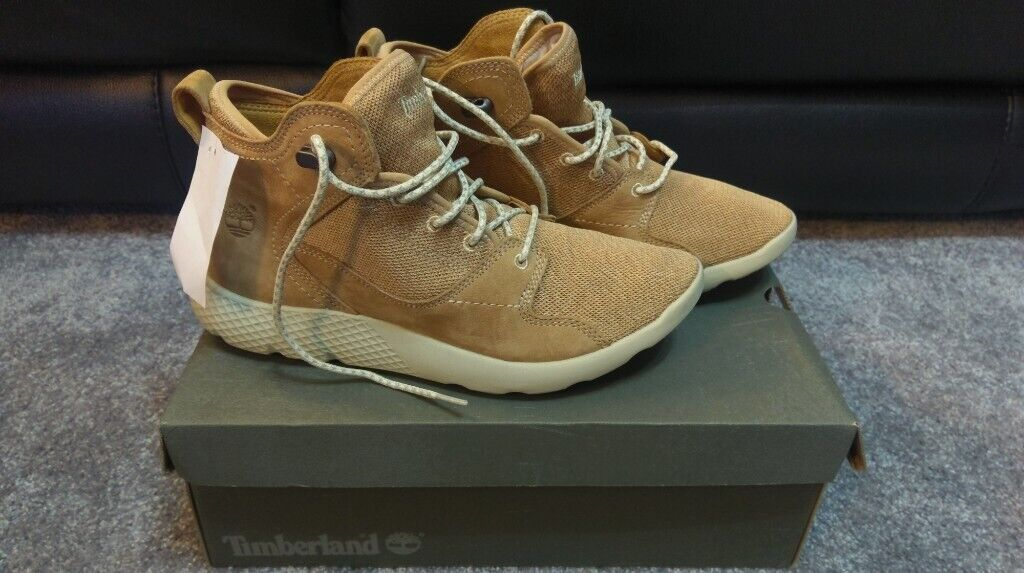 abd6f5e57a4 New Boxed Mens Timberland Tan Flyroam Nubuck Leather & Fabric Hiker Chukka  Boots. Size 8, RRP £110 | in Rochdale, Manchester | Gumtree