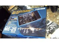BOSS ME-25 MULTIPLE EFFECTS PEDAL