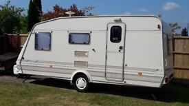 4 BERTH CARAVAN AND AWNING FOR SALE