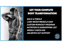 LOSE FAT & TONE UP BODY TRANSFORMATION!
