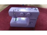 John Lewis Special Edition Lavender Sewing Machine with sewing craft packs. Hardly used, as new