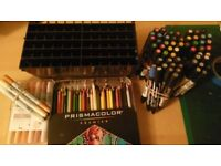 Collection of Copic - winsor & newton - prismacolor FOR SALE