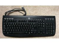 Logitech 350 USB Multimedia/Internet Keyboard
