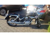 Suzuki Intruder V-Twin 125, Cruiser style motorbike, learner legal.