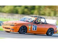 Mazda MX5 Race car eligible for multiple series including BRSCC and 750 club
