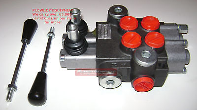 Hydraulic Monoblock Spool Valve Sae Orb Fittings For Kubota L B Series 9 Gpm