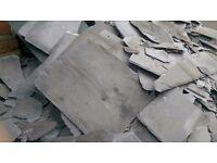 Bangor Blue broken slate pieces