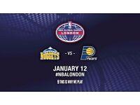 NBA GLOBAL GAMES @02 Block 117 ROW Y, SEAT 507 *£90*