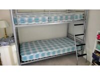 Metal Bunk Beds, in excellent condition, used only at grandparents.