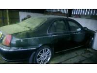Rover 75 1.8 turbo spares or repair.