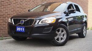 2011 Volvo XC60 Level II, AWD, Leather, Sunroof, Heated Seat, Al