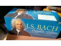 Brilliant Classics Complete Bach, 142 Cd set in excellent condition. Very good recordings.