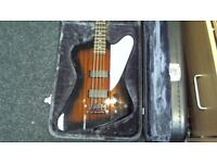 EPIPHONE THUNDERBIRD BASE GUITAR WITH HARD CASE WITH 6 MONTHS WARRANTY