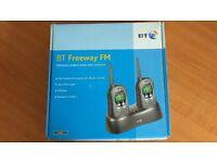 BT Freeway FM PMR446 Radio 'Walkie Talkies' (8 Channel, 38 Sub Channel)