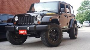 2012 Jeep Wrangler Unlimited SAHARA, LOW KMs, 4X4