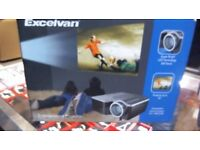 EXCELVAN ENTERTAINMENT PROJECTOR BOXED, 6 MONTHS WARRANTY