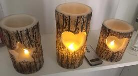Next scented candles with remote control. LED candles