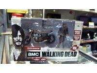 daryl dixon the walking dead with custom bike