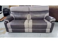 NEW ScS Ralph 3 Seater Electric Recliner Sofa with USB Ports **Can Deliver**