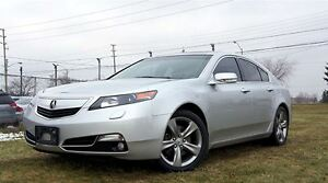 2012 Acura TL 6 SPEED MANUAL SH-AWD NAVIGATION VERY RARE