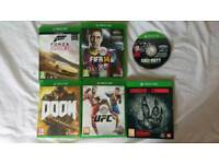 Xbox One Games Lot - 6 Games