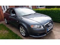 2005 Audi A4 2.0TFSI automatic, immaculate condition, low mileage, full audi service history.