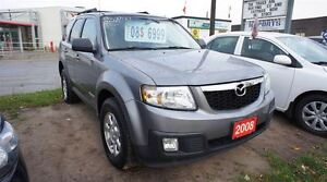 2008 Mazda Tribute AWD, LEATHER, SUNROOF