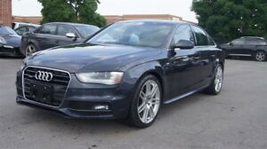 2013 Audi A4 QUATTRO * S-LINE * 6 SPEED MANUAL * NAVI