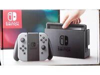 NEW&SEALED Nintendo Switch Grey Console