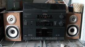 Hifi turntable cassetee system