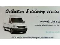 Man with Van, collection, delivery, garden clearance. Chelmsford,Basildon,Brentwood,Pitsea
