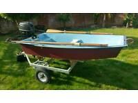 5hp 4 stroke row boat
