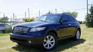 2005 Infiniti FX35 AWD Leather Sunrooof