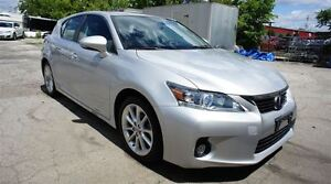 2012 Lexus CT 200h FWD 4dr Hybrid, LEATHER, SUNROOF