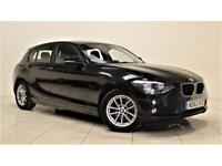 BMW 1 SERIES 1.6 116D EFFICIENTDYNAMICS 5d 114 BHP (black) 2013