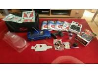 Nitro racer radio control car with extras