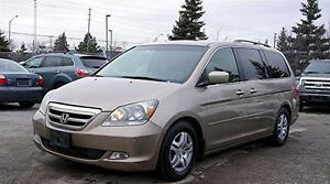 2007 Honda Odyssey TOURING/ LEATHER/ SUNROOF/ NAVI/ DVD