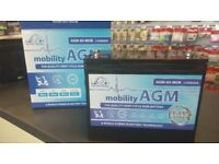 Mobility batteries, from just £24.99, Wide selection available! Delivery available!