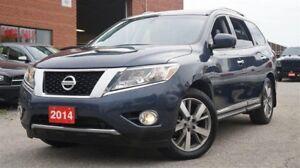2014 Nissan Pathfinder Platinum, Low KMs, 4x4, Navi, 360 Camera,