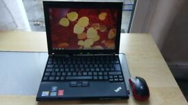 "Lenovo Thinkpad X200si U7300 1.3GH,12.1"", Windows 7 Pro, 4GB Mem, 180GB SSD, Charger, Wireless Mouse"